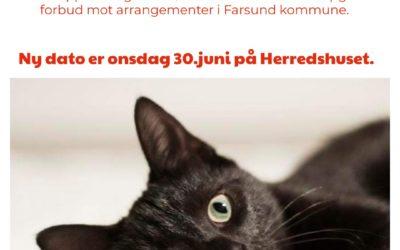 Ny dato på Årsmøte!